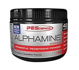 PES Alphamine Advanced Fat Burner 84 Scoops (42 Serves)