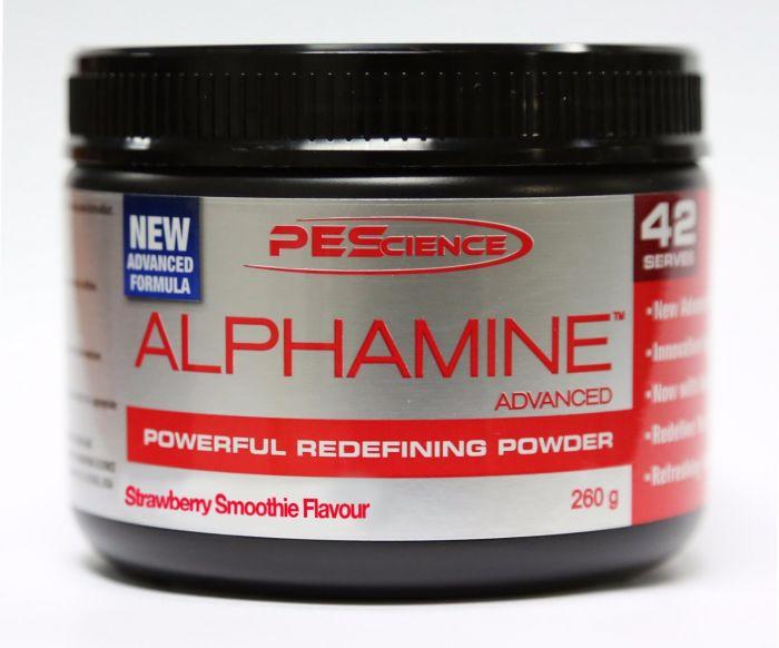 PES Alphamine Advanced Fat Burner 84 Scoops
