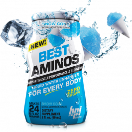 BPI Sports, Best Aminos, Liquid Water Enhancer - Snow Cone