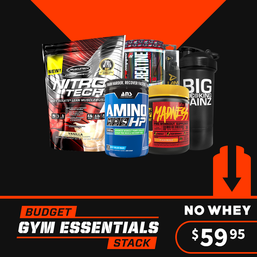 Budget Gym Essentials Stack