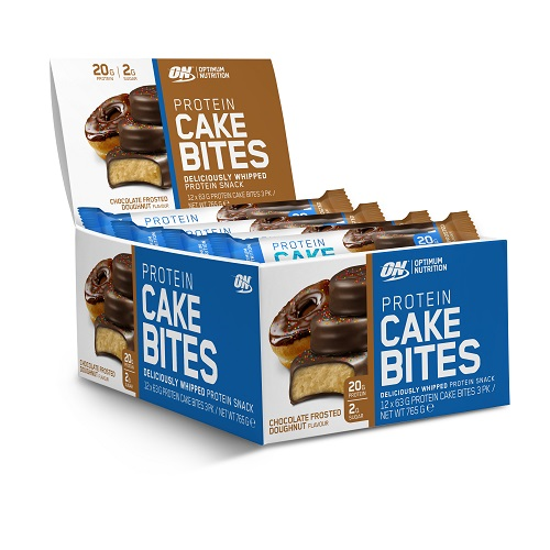 Optimum Nutrition Cake Bites Box of 12 (11/18 Dated)