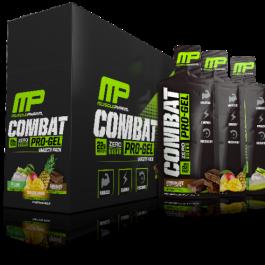 MusclePharm Combat Pro Protein Gels Zero Sugar x12