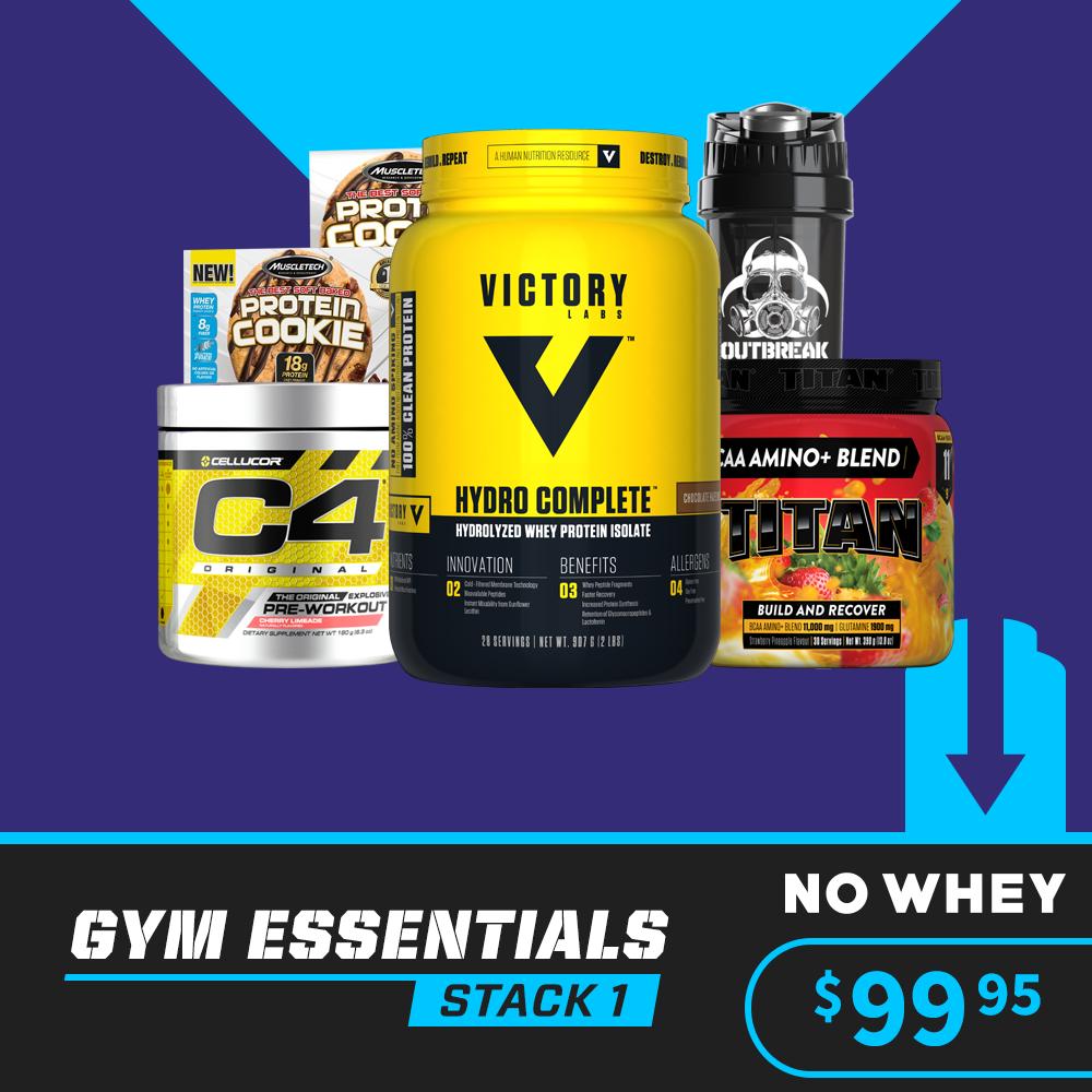 Gym Essentials Stack 1