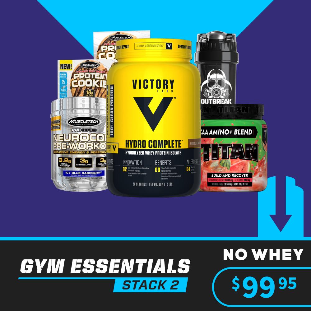 Gym Essentials Stack 2