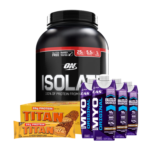 Optimum Nutrition 100% Isolate Protein 5lb (Combo Deal)