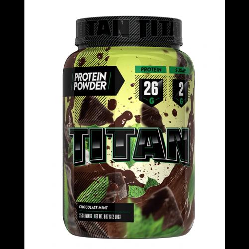 Titan Protein 2lb - Choc Mint