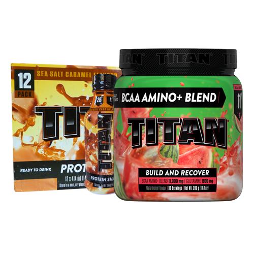 Titan BCAA 30 Serve  + TItan RTD 12 Pack